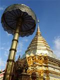 temple Thai North pagoda