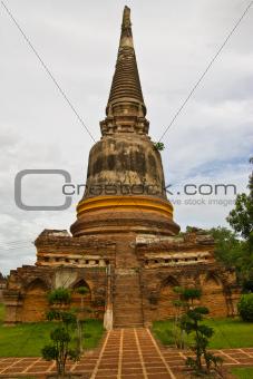 pagoda on sky