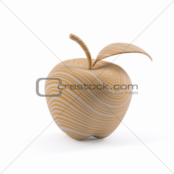 Apple has made out of wood