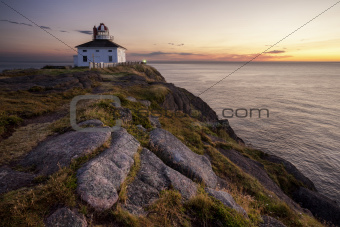 Cape Spear Lighthouse at Sunrise