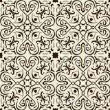 seamless pattern abstract brown ornament