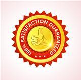 Customer Guarantee Vector Badge