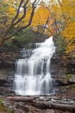 Watefall in Autumn