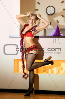 amusing sexy woman