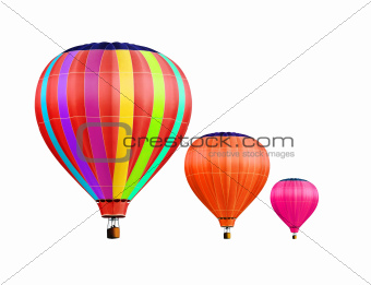 air-balloons with path