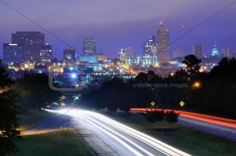 Columbia, South Carolina Skyline