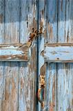 Old Shabby Unpainted Door