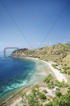 beach near dili east timor, timor leste
