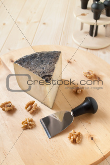 Pecorino cheese with walnuts