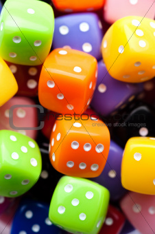 Multicolor dices