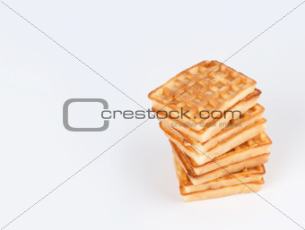 fresh Belgian waffles
