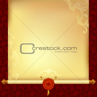 background with ancient paper