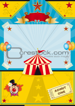Circus on the beach