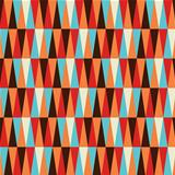 Abstract colorful triangle pattern background