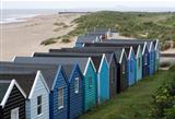Southwold Beach looking towards Sizewell, Suffolk, England