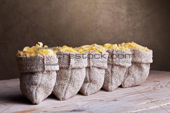 Five pasta assortment