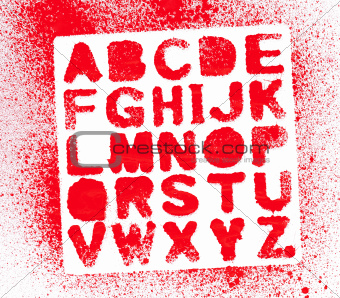 Painted Alphabet