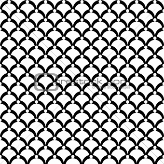 "Seamless texture. ""Fish scale"" motif."