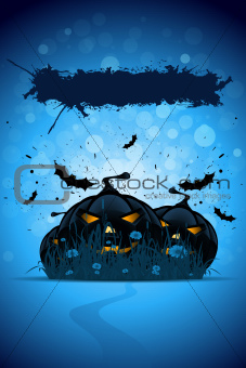 Grunge Halloween Party Template