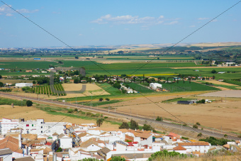 landscape of Andalusia, Spain