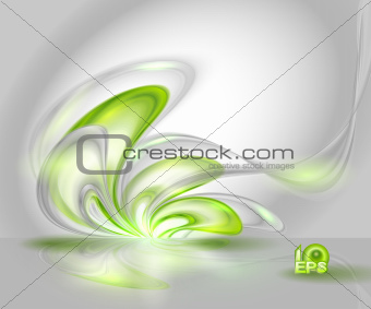Abstract  waving background