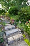 Tile Garden Stair Steps