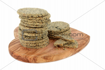 Laverbread Biscuits