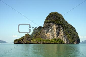 Koh Phanak, Phang Nga Bay, Thailand