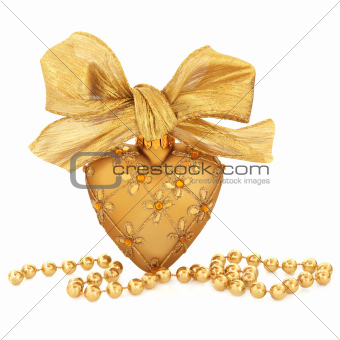 Gold Bauble Decoration