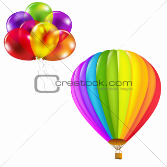 Color Balloons Set