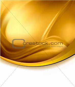 Business elegant gold abstract background illustration