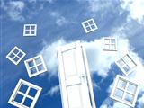 Door and Window in the sky