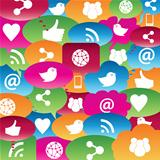 Social network talk bubbles