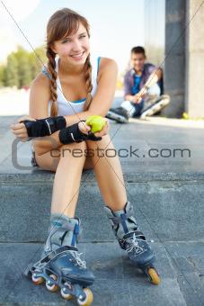 Sporty girl