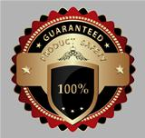 Safe product guarantee label