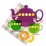 Set of tea things