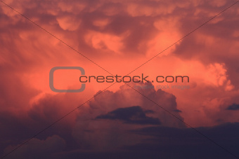 Evening Storm Clouds