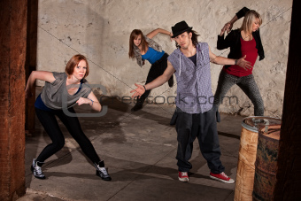 Cool Hip Hop Dancers