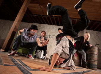 Freestyle Break Dancing