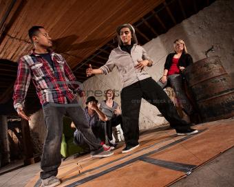 Break Dancing Battle