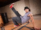 Male Urban Dancer