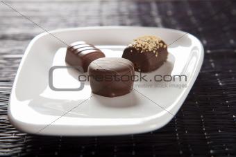 trio bonbons