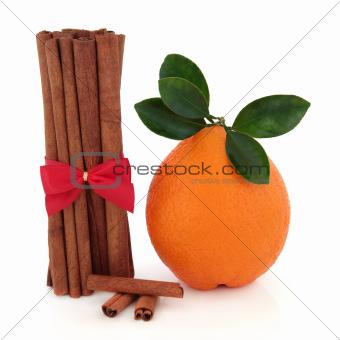 Cinnamon Spice and Orange Fruit