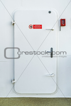 cruise ship door