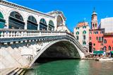 Rialto bridge Venice Italy