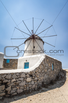 Myconos wind mill