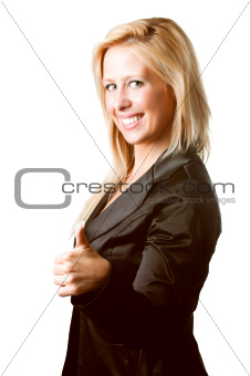 Positive Businesswoman