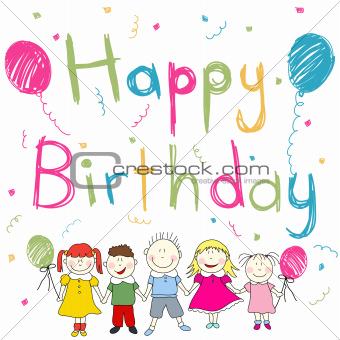 Image 4795847 Happy Birthday Card From Crestock Stock Photos