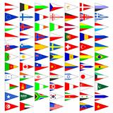 Flags of the countries of the world.