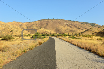 Two-tone road